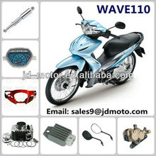 China whole sale motorcycle parts manufacturers WAVE 110WAVE110