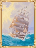 GX7286 2015 new ship photo diy paint by numbers chinese painting for home decor