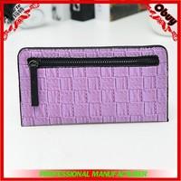 Stylish lady woven envelope bag latest design ladies purse