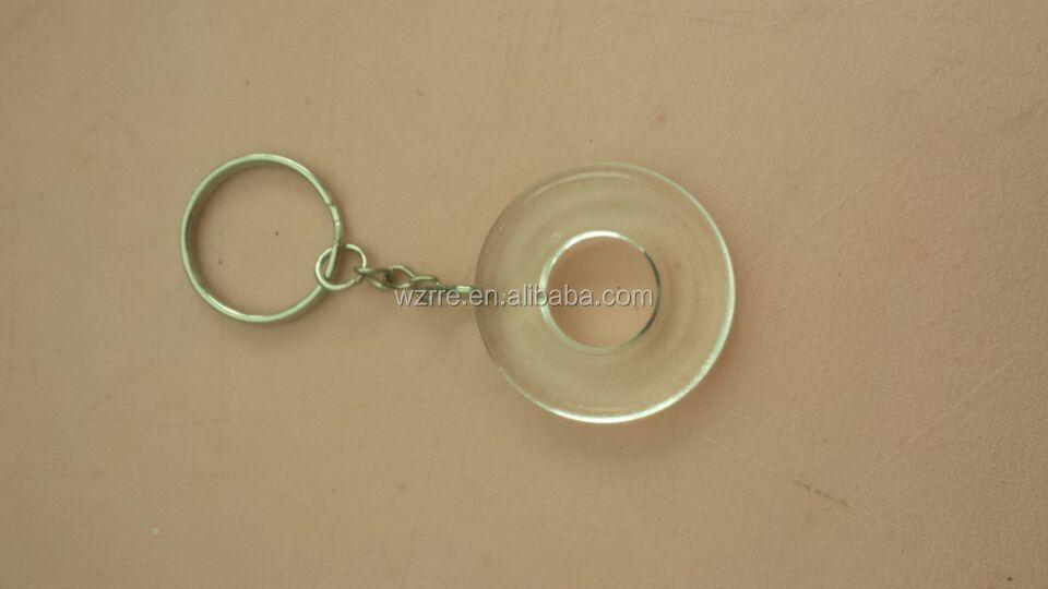 Acrylique Porte-clés en plastique transparent acrylique porte-clés en plastique transparent acrylique porte-clés