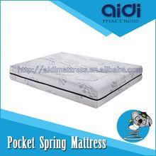180X200 Queen Size Comfortable Memory Foam King Coil Pocket Spring Sofa Bed Mattress AI-1112
