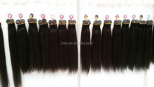 the fashion I-tip Indian human hair extension made of Indian human hair