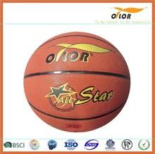 Mini PVC leather laminated indoor training basketballs