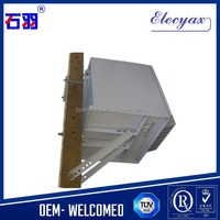 10u outdoor telecom cabinet SK-185/waterproof metal case with air-conditioner for communication base