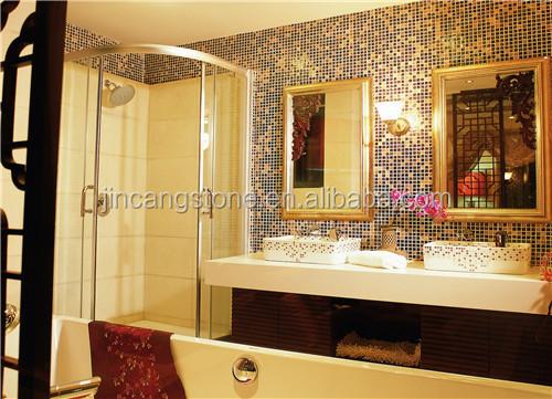 Cube 3d egypte jaune carrelage en marbre de la mosa que for Miroir tunisien