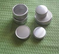 small aluminium round can tin