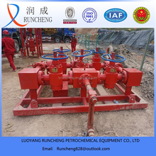 petrochemical device well test oil or gas field use well control manifold