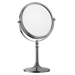 Debout deux way chrome plaqué miroir de table