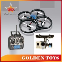 Practical and durable remote control blue copter with camera