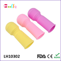 Best quality Silicone Sex toys Penis Sleeve or Finger Sleeve vibrator sex product for couple