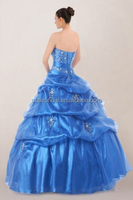 Elegant a line beaded bodice quinceanera dresses with detachable skirt high quality finery dresses