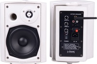 """HYB106-5ABT+HYB106-5,5.25"""" 20W Active Bluetooth Stereo Wireless Wall Mount Speakers"""