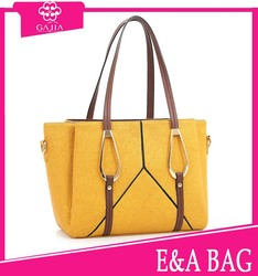 2015 women new leather PU handbag for young ladies cheap handbag imitation cheap handbag