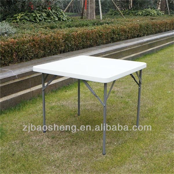 87cm cuadrada de pl stico plegable mesa de interior for Mesa plegable para balcon
