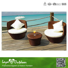 3pcs alum rattan garden furniture, outdoor bistro sets,and wholesale bistro sets W9012