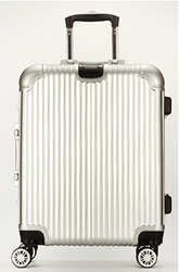360 Free Spinner Trolley Luggage With Ultralight ABS PC, Size 20 24 28 Luggage Suitcase Set