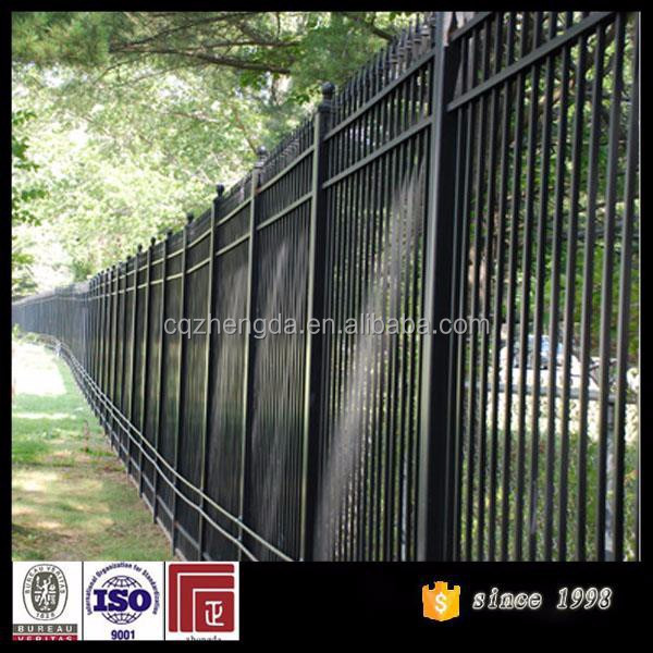 Hot sale high security fence metal fencing buy