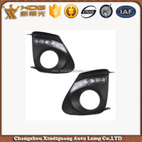 brand new products corolla 2011 led fog light cover , led DRL daytime running lights for corolla 11