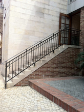 New designs &Hot sale cast iron spiral stair