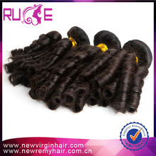 2015 Hot Sale 6A Grade Unprocessed Machine Made Guangzhou Hair Extension Factory