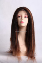 2015 latest long colorful lace front wig