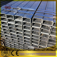 Hot sale prime quality galvanized rectangular steel pipes/tube/tubes from China