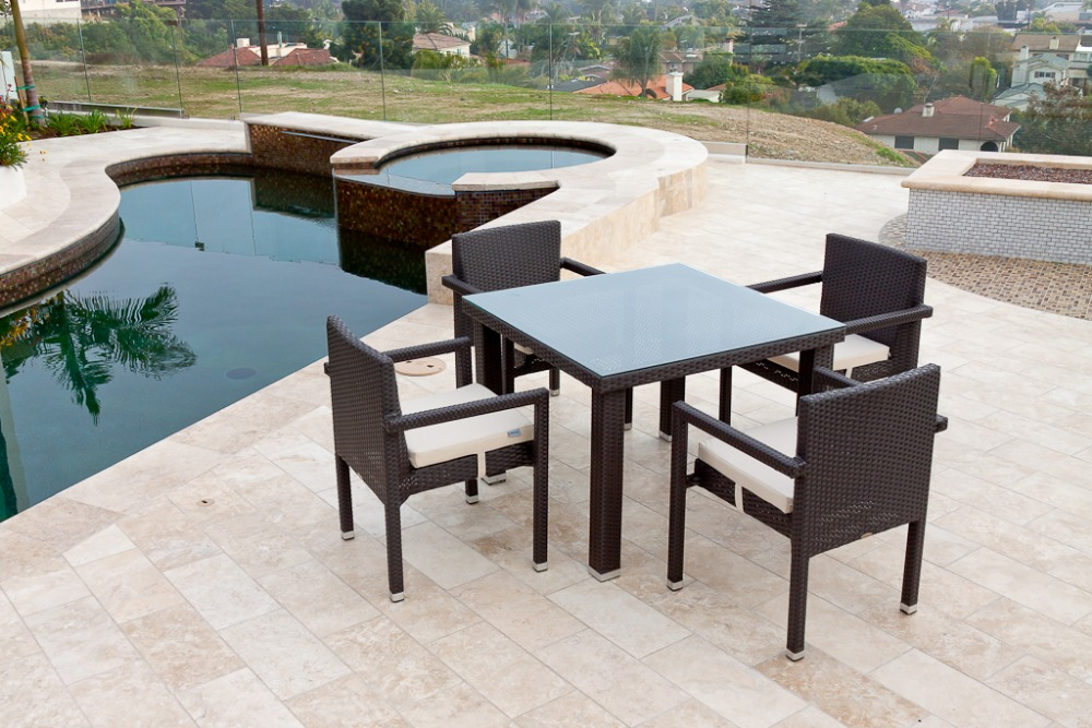 Outdoor pvc wicker patio furniture factory direct for Wholesale patio furniture