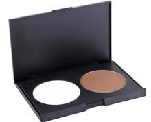 Mineral 2 Color Makeup Face Powder Foundation