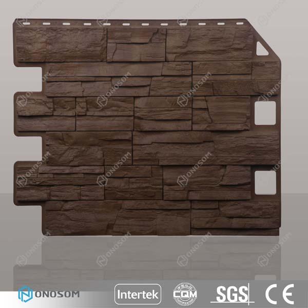 onosom polypropylene exterior faux brick wall panel