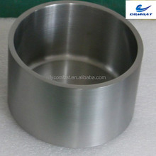 tungsten crucible for iron melting