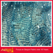 2014 New Whoelsae Shiny Rectangular Sequins Sewed Sequin Fabric on a tulle windstop polar fleece fabric