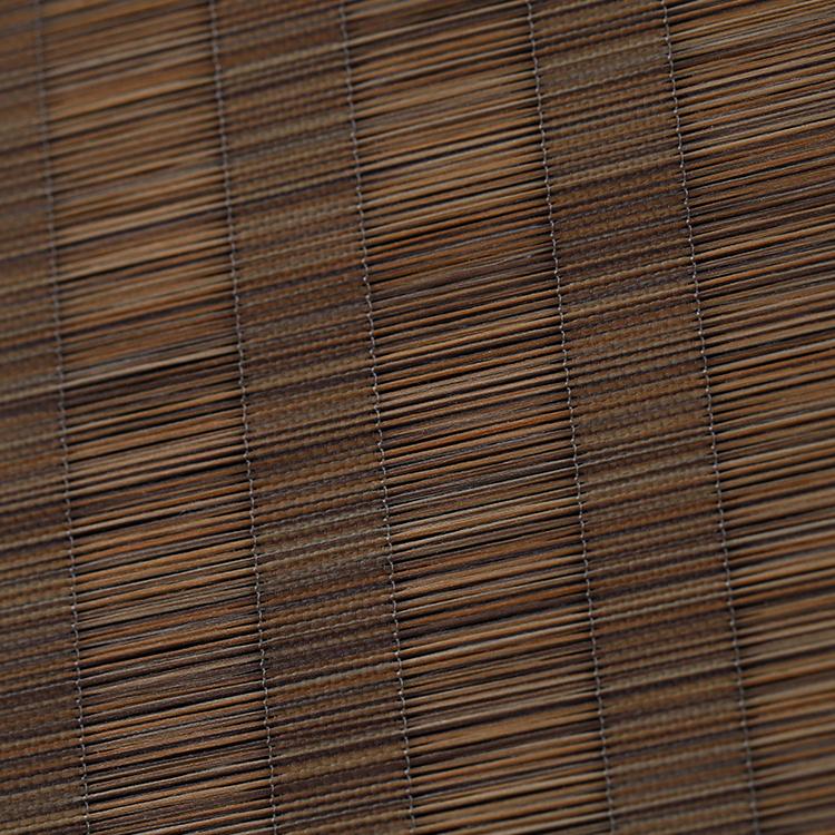 Новый стиль бамбук деревянный узор роликовые оттенки Электрический бамбуковые жалюзи