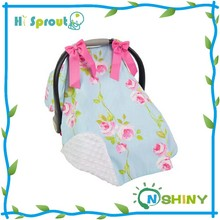 Floral Design and Girl Canopy Infant Car Seat Canopy