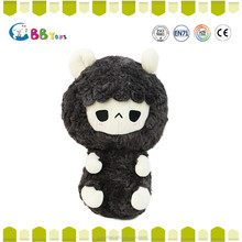 The most satisfying plush toys product,Long black fluffy lambs