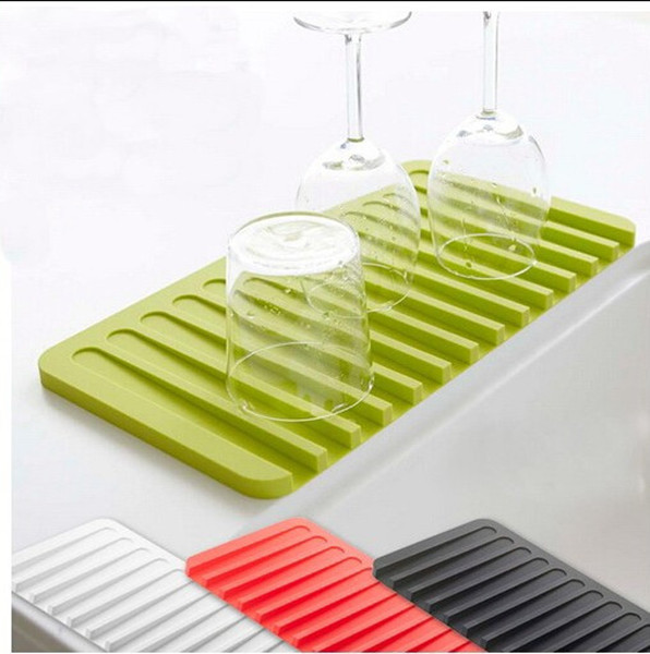 High Quality Silicone Kitchen Dish Drying Mat Kitchen