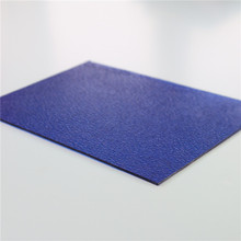 50um UV Blocking Lexan Embossed Polycarbonate Sheet Price for Indoor Decoration