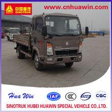 Howo light truck 4x2 1-10 ton payloading