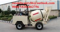 china famous brand export concrete mixing equipment 4*4 , moto mixer