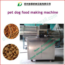 Pet Food Pelletizer Machine|Pellet Making Machine/Automatic extruded pet food pelletizer extrusion machine for dog cat fish