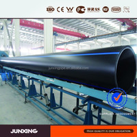 Large Diameter 800mm 900mm 1000mm 1200mm 1400mm 1600mm HDPE Plastic drain Pipe on sale