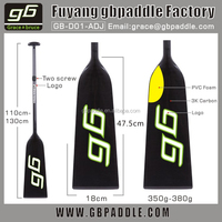 2015 Carbon fiber foot paddle boats and dragon boat paddle on sale