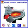 Maquinaria industrial estructura compacta alta eficiencia aceite térmico, gas central de la caldera de calefacción