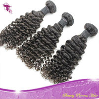 Cambodian virgin hair, wholesale cheap 100% unprocessed raw curly remy virgin cambodian