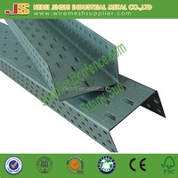 103*1100 2.5mm thickness 50mm height construction use perforated U channel Galvanized reinforced concrete steel door lintel for