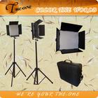 Estúdio de fotografia profissional tiro diodo emissor de luz do painel de vídeo