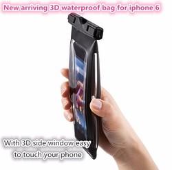 wholesale cellphone waterproof bag accessories for iphone 6 plus/cellphone waterproof bag/phone waterproof dry bag