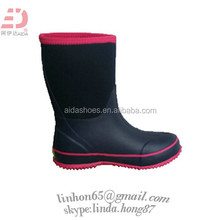 women's Neoprene Boots Rain Boots New