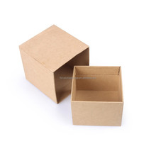 2015 Alibaba different kinds of lid and base kraft material custom box
