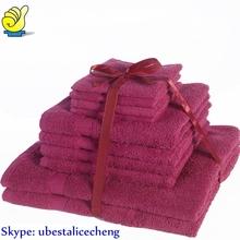 100% cotton plain dyed bath sheet wholesale