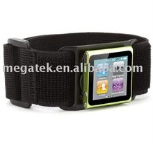 Cell phone case Adjustable sport Armband cases for ipod Nano 6